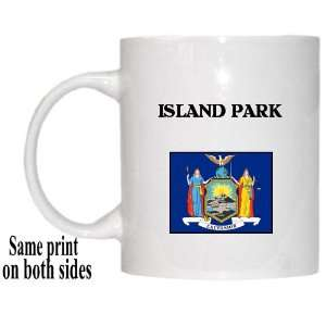 US State Flag   ISLAND PARK, New York (NY) Mug