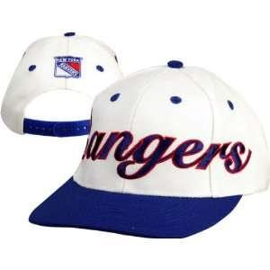 New York Rangers NHL Script Logo Cap