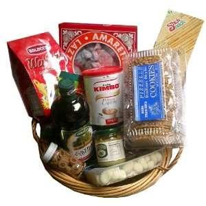Little Italy Italian Gift Basket 11pc  Grocery & Gourmet
