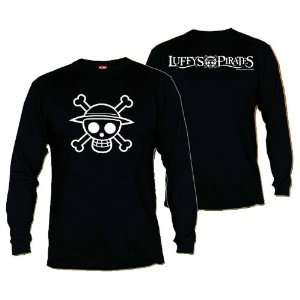 One Piece t shirt manches longues Pirate Logo (M) Toys & Games