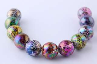30 colorful Acrylic Spacer findings Loose Beads Bracelets necklace