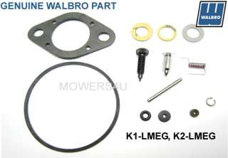 GENUINE WALBRO LME LMG CARBURETOR REPAIR KIT K2 LMEG