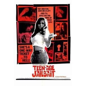 Teenage Jailbait by Unknown 11x17 Kitchen & Dining