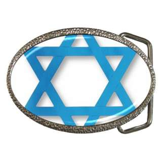 JEWISH STAR OF DAVID Belt Buckle Mens Gift Cool NEW