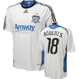 Jamil Roberts Game Used Jersey: San Jose Earthquakes #18 Short Sleeve