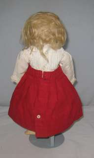 BEBE BISQUE HEAD DOLL BRU JNE 15 TALL CLOSED MOUTH GLASS EYES