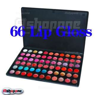 66 Color Lip Gloss Set Makeup Palette Lipstick Cosmetic