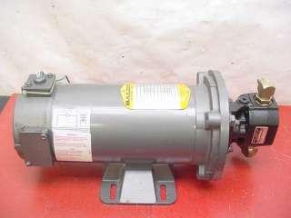 John Barnes Hydraulic Pump W/ 90VDC 1/2HP Baldor Motor