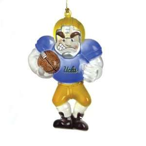 UCLA Bruins NCAA Acrylic Football Player Ornament (3.5