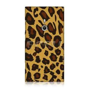 DESIGNS EXOTIC YELLOW LEOPARD PRINT BACK CASE FOR NOKIA LUMIA 800