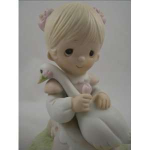 Precious Moments God Is Love Porcelain Figurine