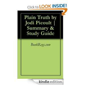 Plain Truth by Jodi Picoult  Summary & Study Guide BookRags