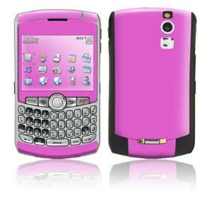 Solid State Vibrant Pink Design Protective Skin Decal