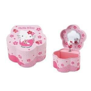 Musical Jewelry Case with Twirling Sakura Hello Kitty Toys & Games