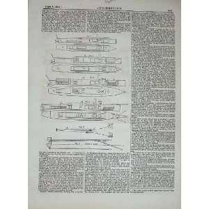 1877 Torpedo Launchers Engineering Diagrams Drawings