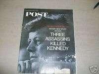 1967 DEC POST MAGAZINE   KENNEDY ASSASSINATION   I 1176
