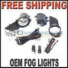 2011 2012 Toyota Sienna OEM Fog Light Replacement Kit New Lamps Fog