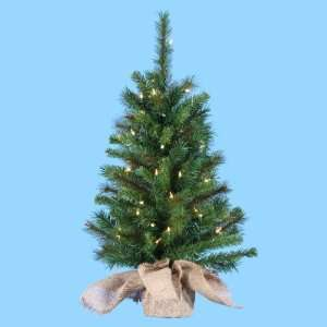 LED Lighted Artificial Christmas Tree   Clear Lights