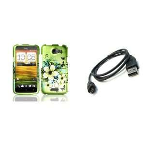 HTC One X (AT&T) Premium Combo Pack   Green Hibiscus