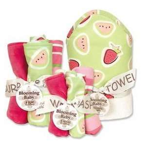 Trend Lab JUICIE FRUIT BOUQUET SET   ALL 3 BOUQUETS   HOODED TOWEL