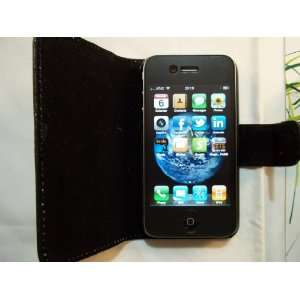 Premium Leather Case Cover Apple iPhone 3G/3GS with Magnetic Closure