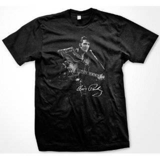 Elvis Presley 68 Special GuitarT shirt, Mens Elvis Presley Signature