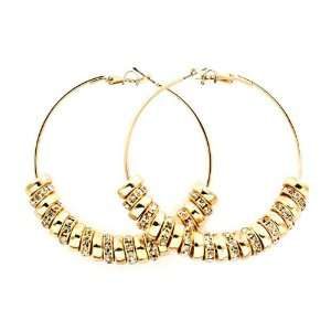Basketball Wives POParazzi Inspired Ring Hoop Earrings   Gold Rings
