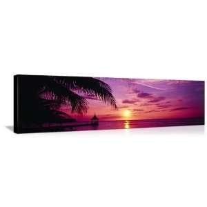 Sunset Montego Bay Jamaica (48 in x 16 in) Kitchen