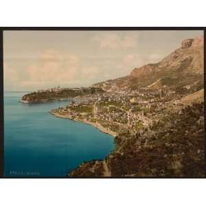 view of the principality, Monaco, Riviera:  Home & Kitchen