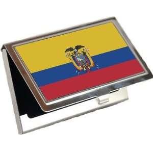 Ecuador Flag Business Card Holder
