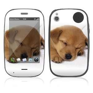 Palm Pre Plus Skin Decal Sticker   Animal Sleeping Puppy