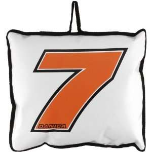 NASCAR Danica Patrick White Seat Cushion Sports