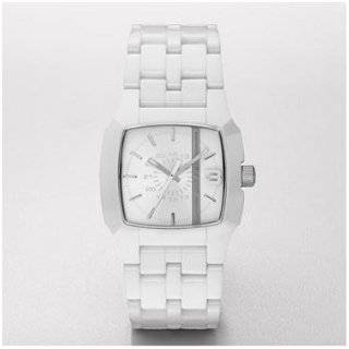 Diesel Women s White Leather Strap Watch #DZ5130 Watches