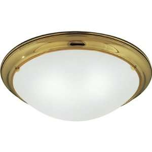 Progress Lighting Close to Ceiling Fixture Polished Brass