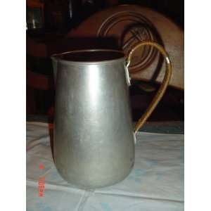 Antique Aluminum Table Water Pitcher Everything Else