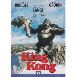 King Kong (1976) [NTSC/REGION 1, 3 & 4 DVD. Import Latin