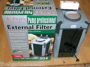 Super Quiet External Canister Aquarium Filter + All Medias