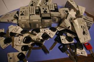 89 Axxess Key Blanks various #s Locksmith Plastic Head R keys Vehicle