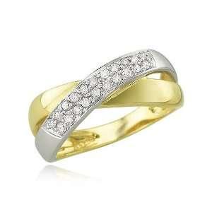 YELLOW GOLD Diamond Ring Diamond quality A (I1 I2 clarity, H I color