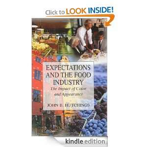 Expectations and the Food Industry The Impact of Color and Appearance