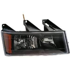 CHEVROLET/GMC COLORADO/CANYON PICKUP (BLACK HOUSING) PAIR HEADLIGHT 04
