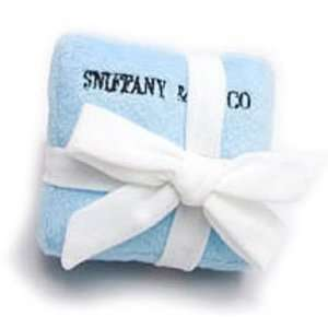 Sniffany & Co. Signature Blue Box Plush Dog Toy