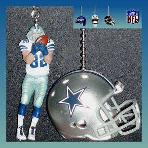 NFL FOOTBALL DALLAS COWBOYS HELMET & WITTEN FAN PULLS