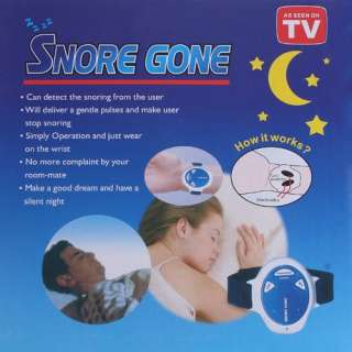 Snore Gone Stop Snoring Anti Snoring Sleeping Wristband