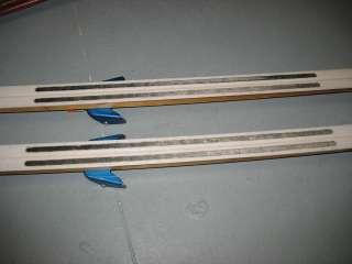 Vintage 190cm SPLITKEIN WOOD CROSS COUNTRY SKIS wooden