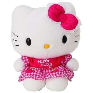 Hello Kitty   Apple Apron Hello Kitty 12 Plush Toys