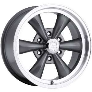Vision Legend 6 6x114.3 6x4.5 +15mm Gun Metal Wheels Rims Inch 22
