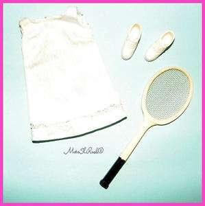 Vintage Francie Barbie Doll Tennis Time Set #1221 HTF
