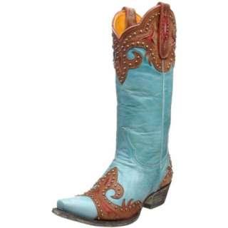 Old Gringo Womens Tak Brown Stud Boot   designer shoes, handbags