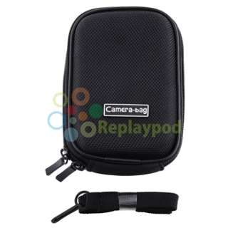 New Small Black Digital Camera Bag Pouch Case for Canon ELPH 100 300